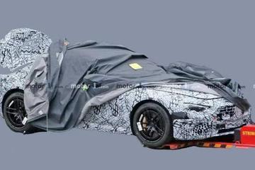 2021款奔驰SL敞篷版谍照曝光 采用全新外观设计