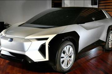 斯巴鲁全新电动车发布 有望2025年推出