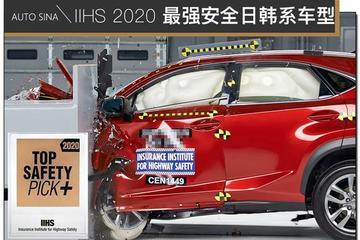 购车硬标准 IIHS获得2020最强安全的日韩系车型