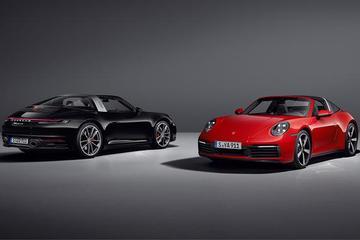 保时捷发布全新911 Targa 配备全自动车顶系统