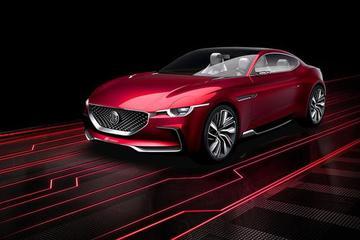 概念车即将量产 名爵E-motion专利图曝光