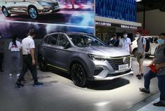 2020重庆车展视频:国潮设计狮标惹眼 荣威RX5 PLUS要做精神小伙