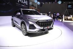2020重庆车展视频:光影设计低趴轿跑风格 长安欧尚X5靠颜值大杀四方