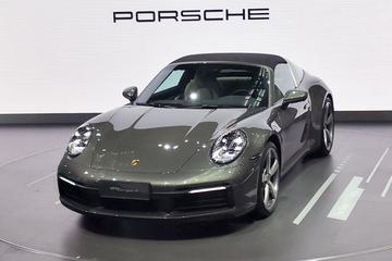2020粤港澳车展:全新保时捷911 Targa全球首秀 19秒变敞篷
