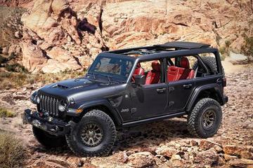 搭载450马力V8 Jeep牧马人终极越野神器发布