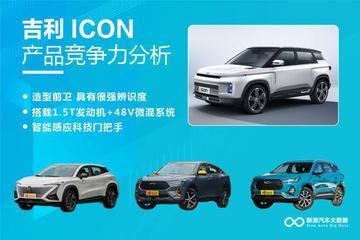 【新浪汽车大数据】上市半年后,吉利ICON的市场竞争力如何?