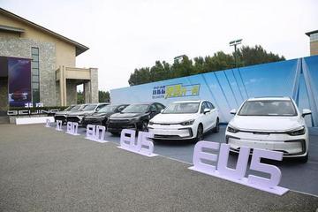 2020款BEIJING-EU5 BEIJING-X7交付并发放汽车消费券
