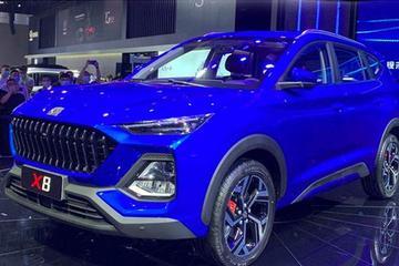 启用全新车标 思皓X8将在北京车展上市