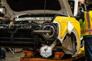全新福特Bronco正式预生产 首发版将推新颜色/约40.5万起