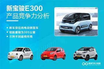【新浪汽车大数据】上市半年后,新宝骏E300的市场竞争力如何?