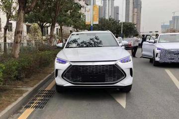 比亚迪全新SUV新车曝光 又是一款新前脸或为DM车型专用