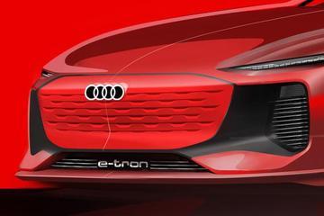 极度动感 奥迪全新电动概念车设计图露出