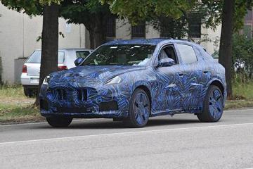 预计2021年上市 玛莎拉蒂第二款SUV车型Grecale伪装谍照曝光