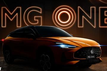 MG全新SUV正式命名MG ONE 局部图曝光