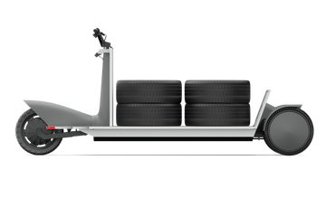 2021慕尼黑车展:极星发布Re:Move电动运输平板车