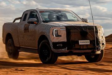 福特发布全新2023款Ranger皮卡效果图,拟于2022年上市销售