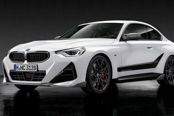宝马发布搭载全M性能零件的2系轿跑车型,内外饰升级后更倾向于个性化