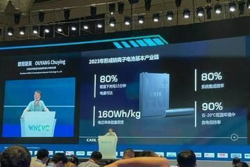 欧阳楚英:宁德时代计划在2023年形成钠离子电池基本产业链