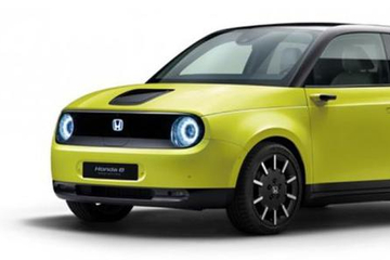 本田e海外开放预订 提供五种车身颜色