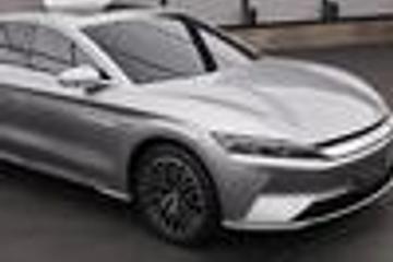 比亚迪汉旗舰轿车谍照曝光 仅推电动版/年中上市