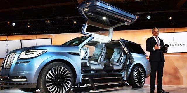 视频:鸥翼门的7座SUV!创新林肯领航员