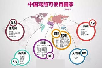 出国游?中国驾照可在180个国家开车啦!