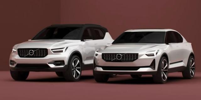 视频:沃尔沃全新概念车40系亮相