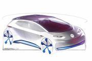小有创意 大众全新纯电动概念车设计图