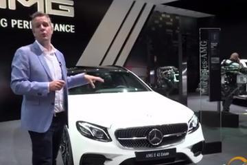 视频:巴黎车展 奔驰ATM GLC 43 Coupe