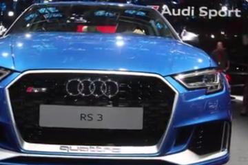 视频:巴黎车展 奥迪RS 3 Sedan