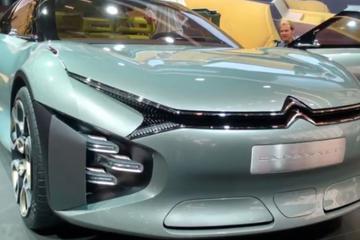 视频:巴黎车展 雪铁龙CXPERIENCE概念车