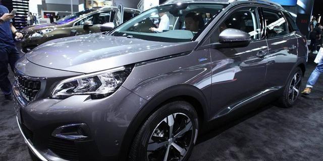 视频:广州国际车展东风标致4008