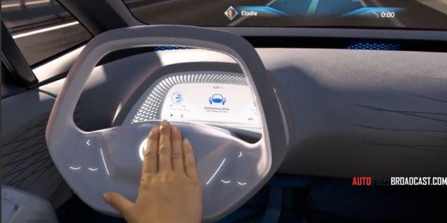 视频:大众ID概念车 采用纯电动动力