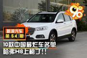 90度|10款中国最烂车名单 哈弗H6上榜了!