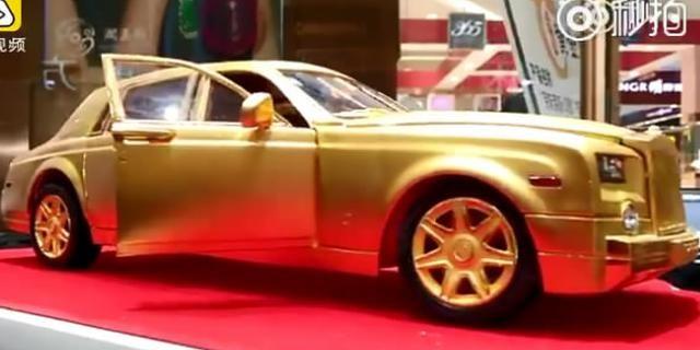 视频:天价黄金车模!价值北京一套房