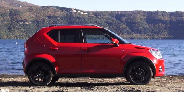 视频:小型SUV铃木Ignis 5速手动变速箱