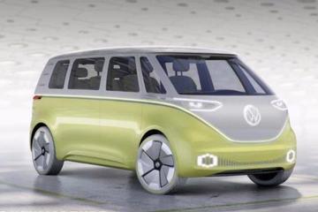 视频:2017北美车展之大众I.D.BUZZ概念车