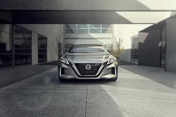 视频:北美车展之日产Vmotion 2.0概念车