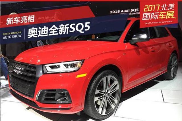 2017北美车展:奥迪全新SQ5正式发布
