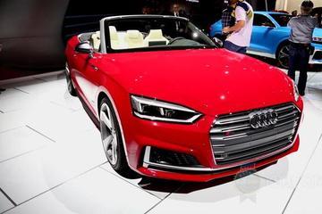 视频:北美车展之奥迪全新S5 Cabriolet