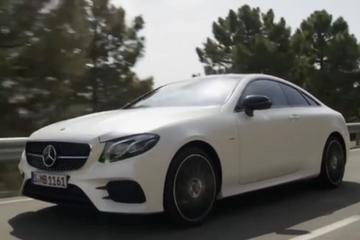 视频:奔驰全新E级Coupe 诠释优雅