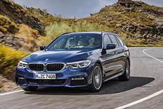 全新BMW5系旅行车亮相日内瓦