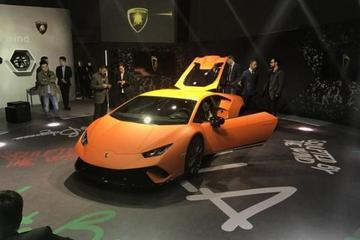 纽北最速量产车 Huracan新车型国内发布