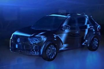 6月首发/未来国产 大众小型SUV造型曝光
