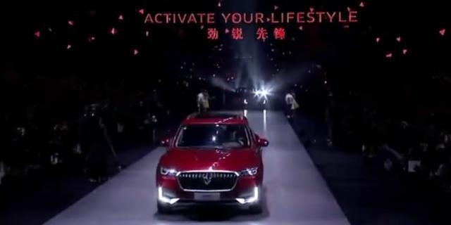 视频:终于登场!宝沃BX5华丽亮相舞台