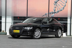 奥迪A8L新车型上市 售价93.7-103.9万元