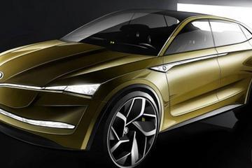上海车展发布 斯柯达新概念车设计草图