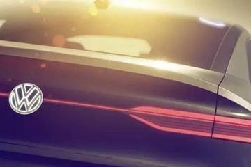 大众I.D.概念车预告图发布 上海车展亮相