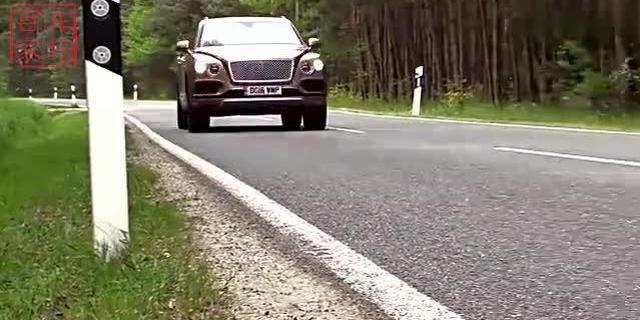 视频:宾利添越有多快?赶得上和谐号了