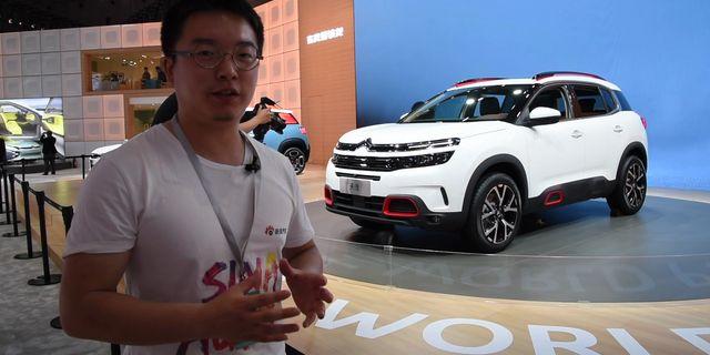 视频:[汽车黑科技]上海车展雪铁龙的悬挂